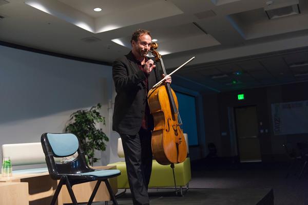 Guest Cellist Michael Fitzpatrick