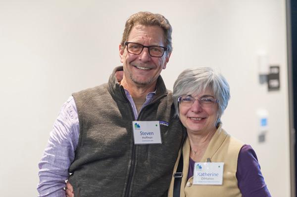 Steve Hoffman and Katherine DiMatteo