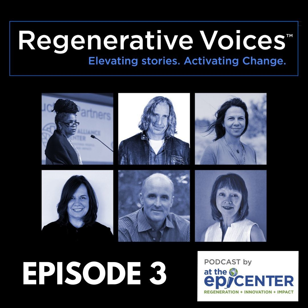Regenerative Voice - Ep 3 Cover